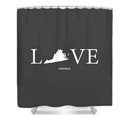 Va Love Shower Curtain