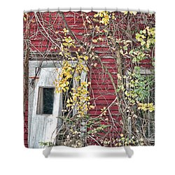 Vacant Doorway Shower Curtain