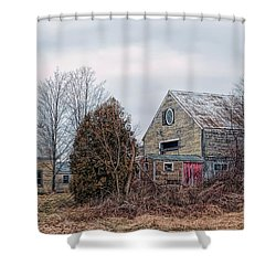 Vacant Pleasure Shower Curtain