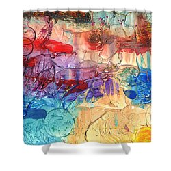 Vacation #2 Shower Curtain by Phil Strang