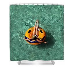 Vacation Shower Curtain by David Lee Thompson