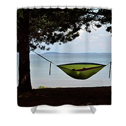 Vacation Shower Curtain by Diane Lent