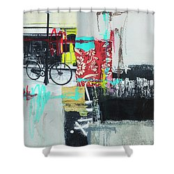 Shower Curtain featuring the photograph Vacation In Paris by Elena Nosyreva