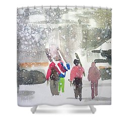Vail,colorado  Shower Curtain by Ed Heaton