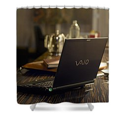 Vaio Shower Curtain