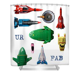 Valentine Ur Fab Shower Curtain by John Colley