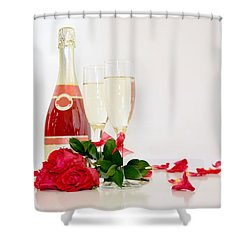 Valentine's Display Shower Curtain