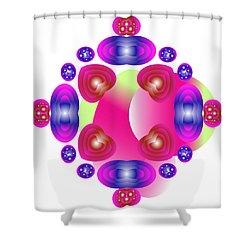 Valentine's Shower Curtain