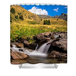 Valle Di Viso - Ponte Di Legno Shower Curtain