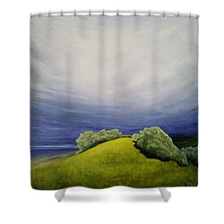 Valle Vista Meadow Shower Curtain