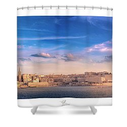 Valletta Shower Curtain