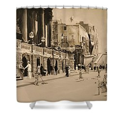 Valletta Entrance 1935 Shower Curtain