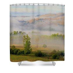 Valley Blanket Shower Curtain
