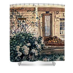 Valley Ford House Shower Curtain by Donald Maier
