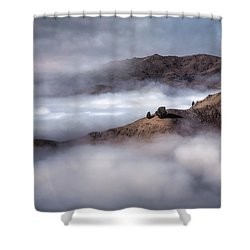 Valley In The Clouds Shower Curtain