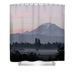 Valley Mists Shower Curtain