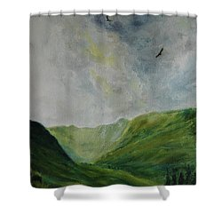 Valley Of Eagles Shower Curtain