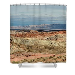 Valley Of Fire, Nevada Shower Curtain