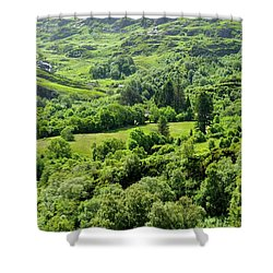 Valley Of Green Shower Curtain