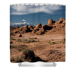 Valley Of The Goblins Shower Curtain