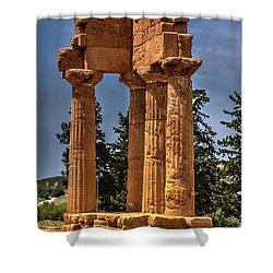 Valley Of The Temples I Shower Curtain