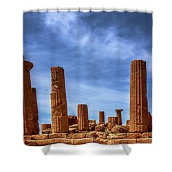 Valley Of The Temples IIi Shower Curtain