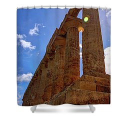 Valley Of The Temples Iv Shower Curtain