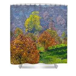 Valley Of The Trees Shower Curtain