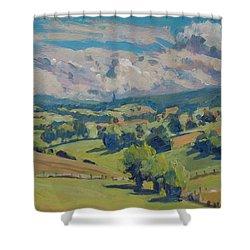 Valley Schweiberg Shower Curtain