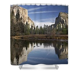 Valley View Reflection Shower Curtain
