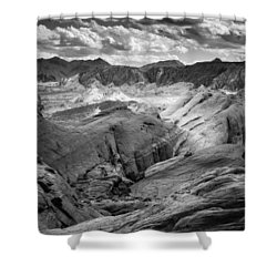 Valley Of Fire Expanse Shower Curtain