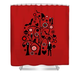 Vampire Art Shower Curtain by Anastasiya Malakhova