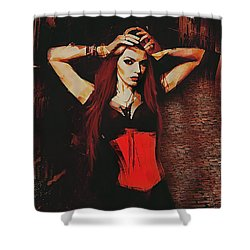 Vampire Compelled  Shower Curtain