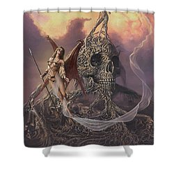 Vampis Lair Shower Curtain