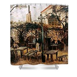 Van Gogh: Guingette, 1886 Shower Curtain by Granger