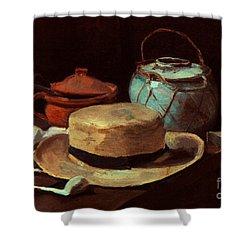 Van Gogh: Still Life, 1885 Shower Curtain by Granger