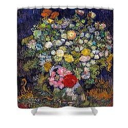 van Gogh's Vase          Shower Curtain