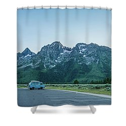 Van Life Shower Curtain