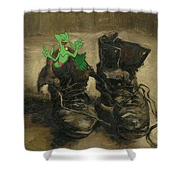 Van Septilegogh Shower Curtain