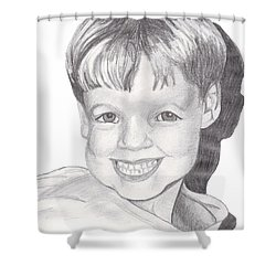 Van Winkle Boy Shower Curtain