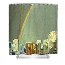 Vancouver Bc Shower Curtain
