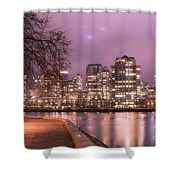 Shower Curtain featuring the photograph Vancouver, Canada by Juli Scalzi