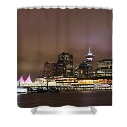 Vancouver Canada Place Shower Curtain