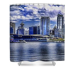 Vancouver Shower Curtain by Gordon Engebretson