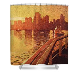 Vancouver Morning- Bc Shower Curtain