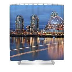 Vancouver Science World Shower Curtain