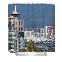 Vancouver Stadium Shower Curtain
