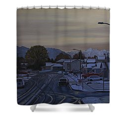 Vanilla Sky Shower Curtain by Thu Nguyen