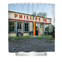 Vanishing America Shower Curtain