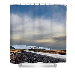 Vanishing Point Shower Curtain